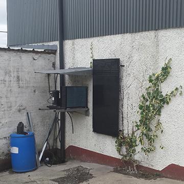 wall-mounted thermo panels | NRG Panel