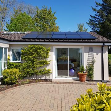small solar panel supplier Ireland | NRG Panel