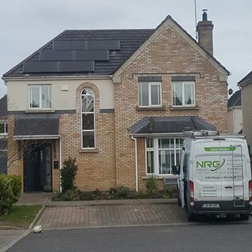 solar panels for large homes Ireland | NRG Panel