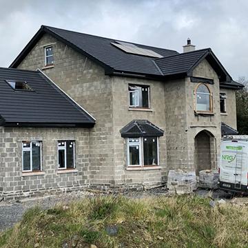 new build home solar panels | NRG Panel