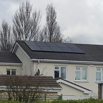 roof solar panel suppliers Ireland | NRG Panel