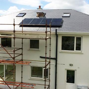new build house solar panels | NRG Panel
