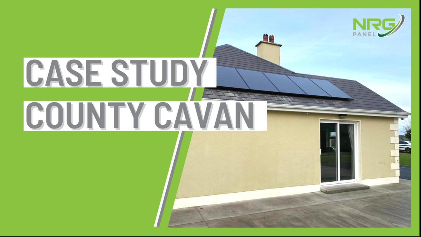 SOLAR PANELS CAVAN – CASE STUDY 2021 – NIALL CONNOLLY - NRG PANEL