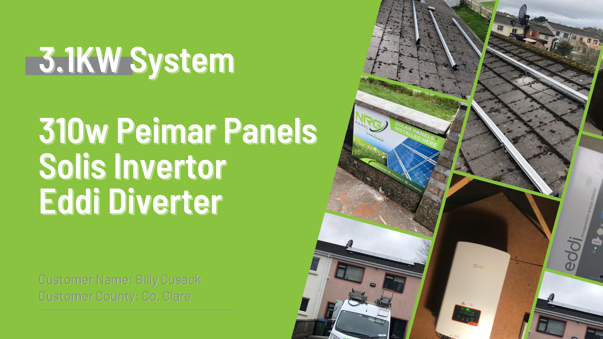 Case Study - Solar Panel Install Co. Clare - NRG Panel - #1