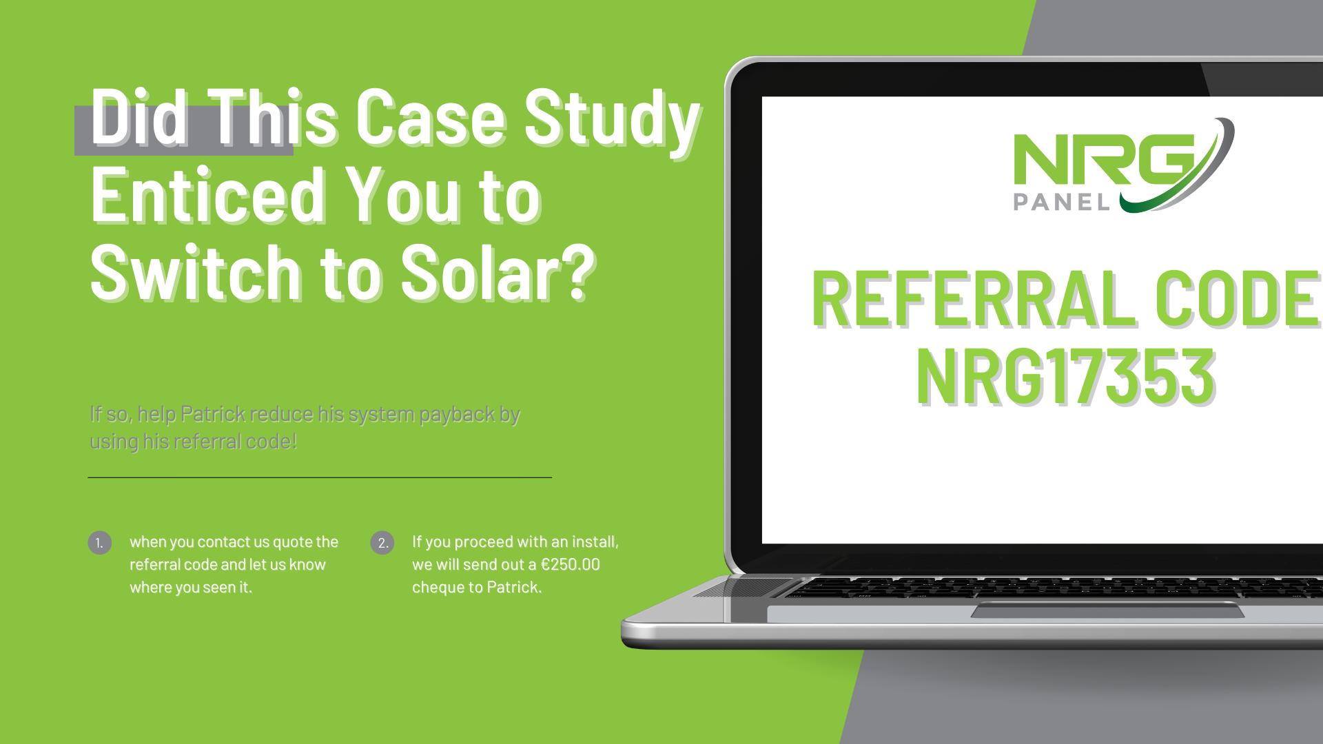 Case Study - Solar Panel Install Co. Longford - NRG Panel - #1