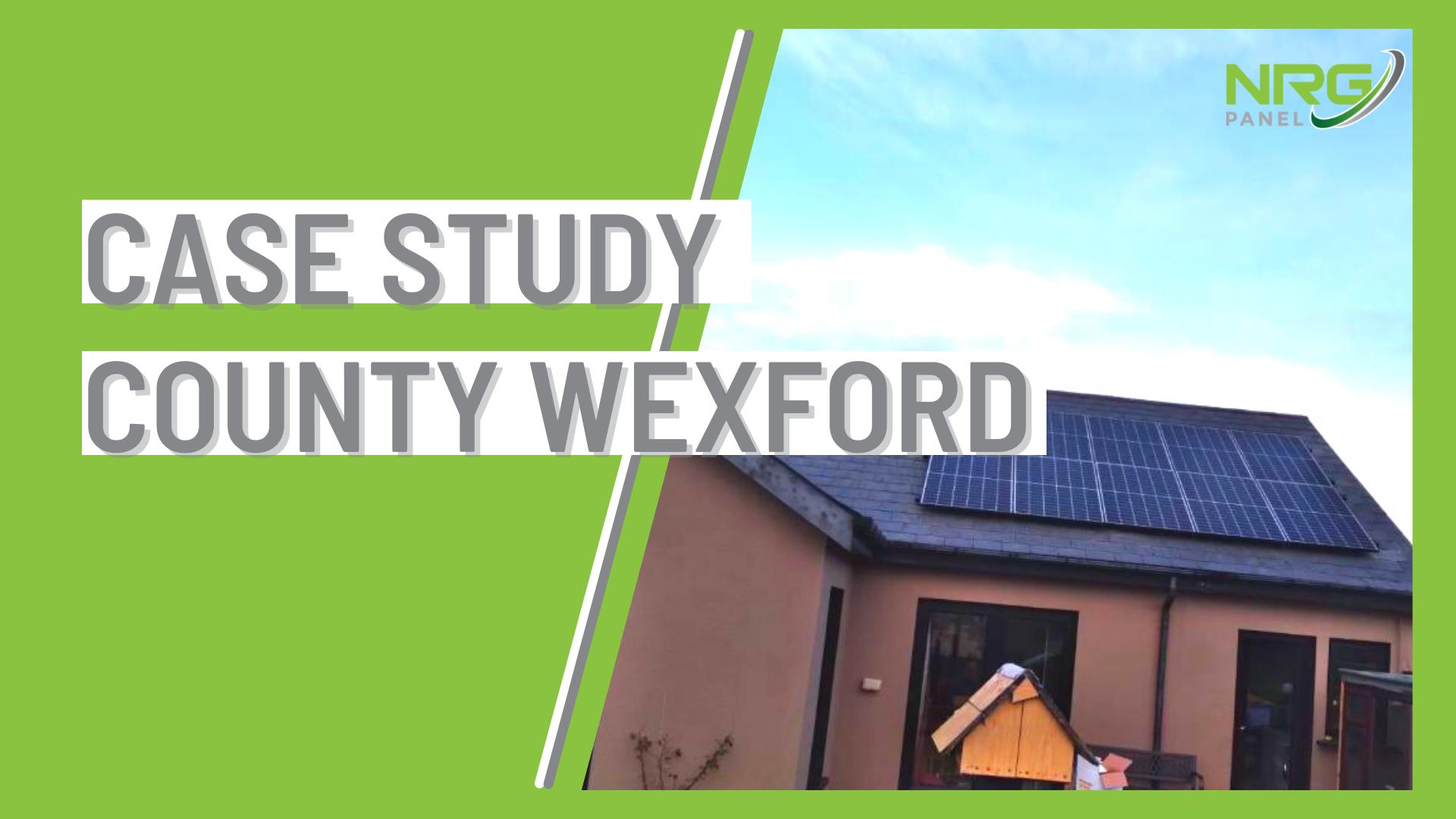 Case Study - Solar Panel Install Co. Wexford - NRG Panel - #1