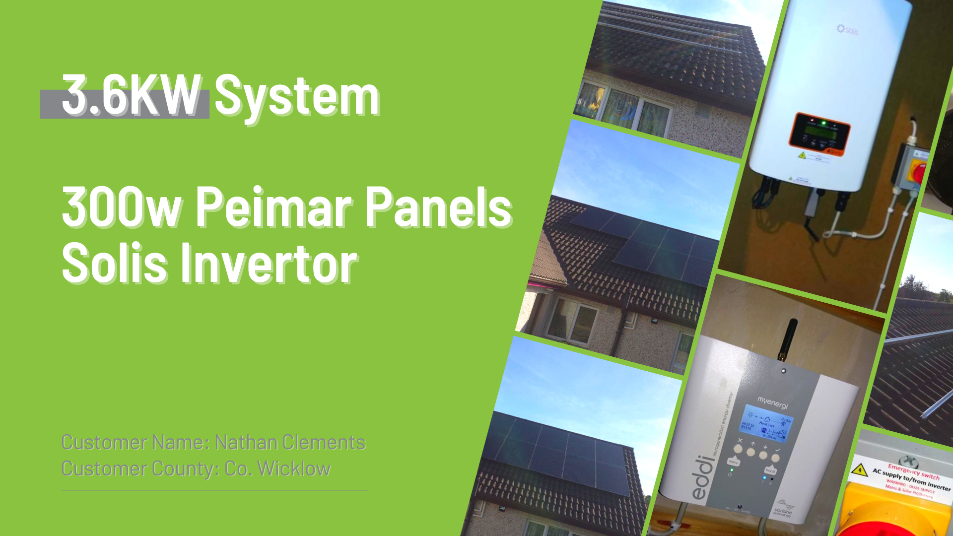 Case Study - Solar Panel Install Co. Wicklow - NRG Panel - #1