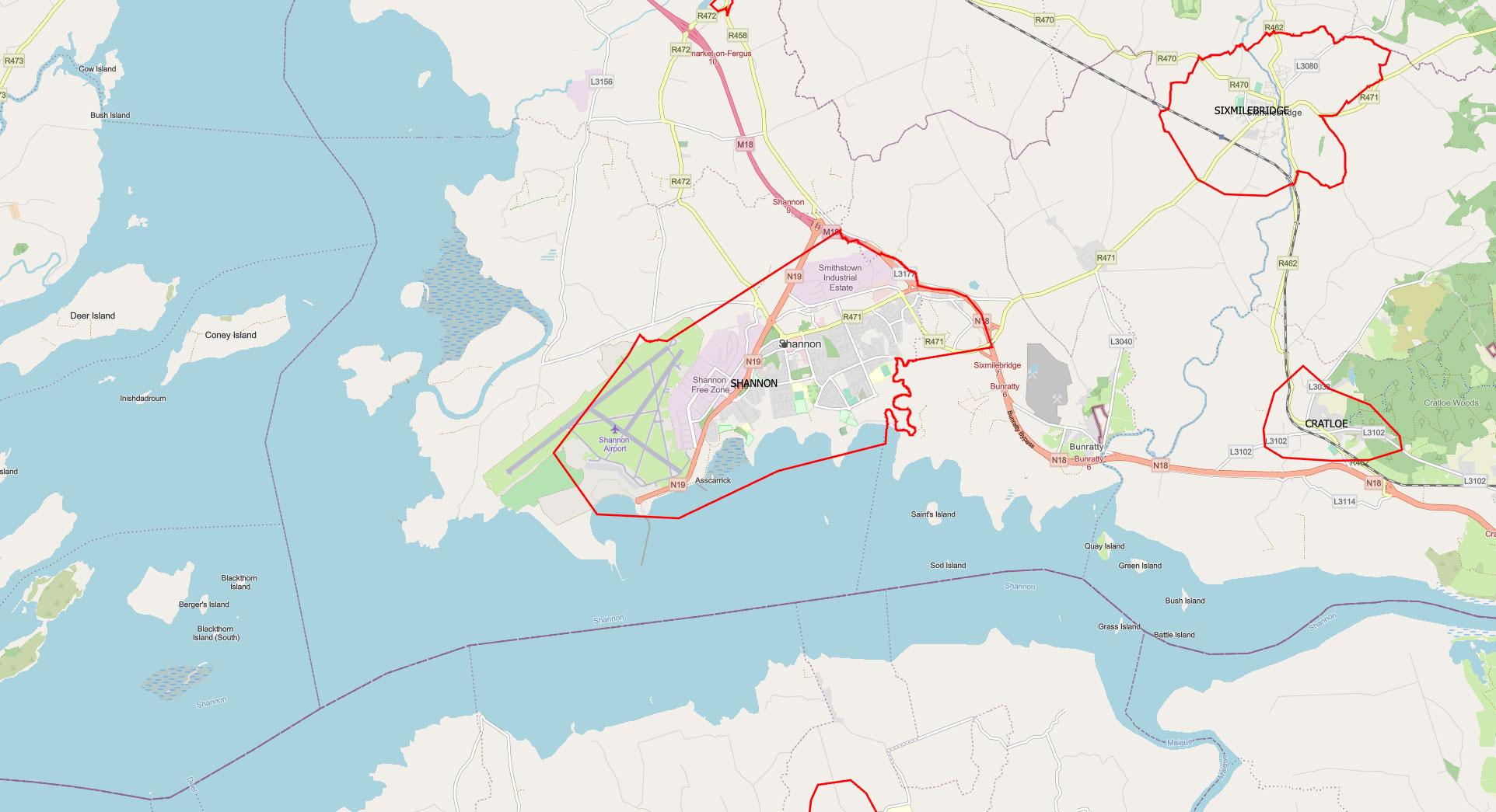Solar-panels-shannon-clare-ireland-map-image