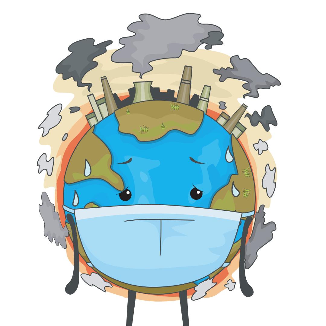 solar panels reduce air pollution